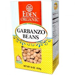 Eden Foods, Organic Garbanzo Beans, 16 oz (454 g)