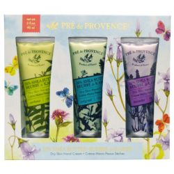 European Soaps, LLC, Pre de Provence, Floral Meadow Handcream Trio, 3 Tubes, 1 oz (30 ml) Each