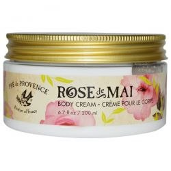 European Soaps, LLC, Pre de Provence, Rose De Mai Body Cream, 6.7 fl oz (200 ml)