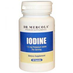 Dr. Mercola, Premium Supplements, Iodine, 30 Capsules