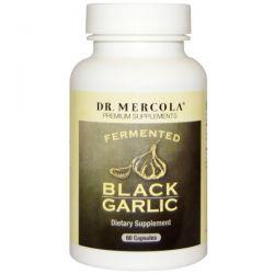 Dr. Mercola, Premium Supplements, Fermented Black Garlic, 60 Capsules