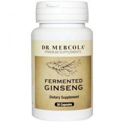Dr. Mercola, Premium Supplements, Fermented Ginseng, 30 Capsules