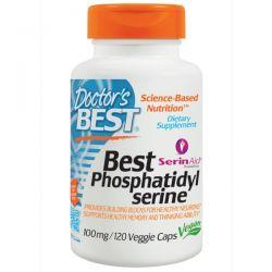 Doctor's Best, Best Phosphatidylserine, 100 mg, 120 Veggie Caps