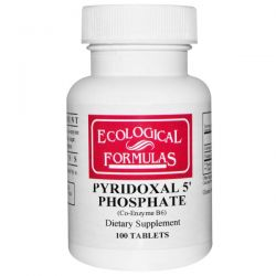Cardiovascular Research Ltd., Pyridoxal 5' Phosphate, 100 Tablets