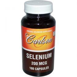 Carlson Labs, Selenium, 200 mcg, 180 Capsules