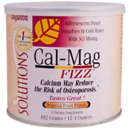 Baywood, Cal-Mag Fizz, Tropical Fruit Flavor, 17.4 oz (492 g)