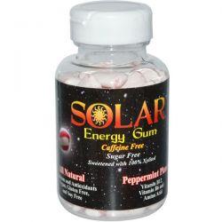 B-Fresh Inc., Solar, Energy Gum, Peppermint Planet, 100 Pieces