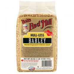 Bob's Red Mill, Barley, Hull-Less, 26 oz (737 g)