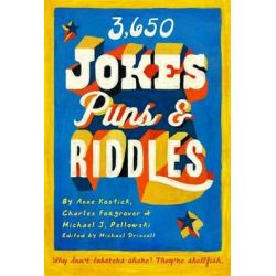 3650 Jokes, Puns and Riddles by Anne Kostick, 9781579128432.