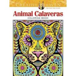 Creative Haven Animal Calaveras Coloring Book, Creative Haven Coloring Books by Mary Agredo, 9780486805719.