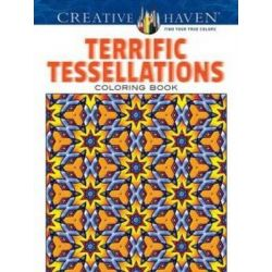 Creative Haven Terrific Tessellations Coloring Book, Creative Haven Coloring Books by John Alves, 9780486790183.