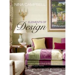 Nina Campbell's Elements of Design by Nina Campbell, 9781782490364.