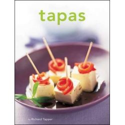 Tapas, Tuttle Mini Cookbook by Richard Tapper, 9780804847483.