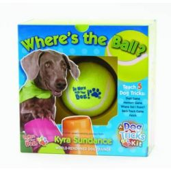 Where's the Ball, a Dog Tricks Kit, Engage, Challenge, and Bond with Your Dog by Kyra Sundance, 9781631590054.