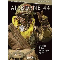 Airborne 44, 12 Inch Allied D-Day Paratrooper Figures by Frederic Bouteiller, 9782915239966.