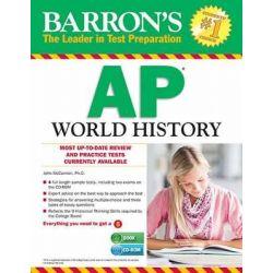 AP World History by John McCannon, 9781438073835.