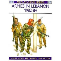 Armies in the Lebanon, 1982-84, Men-at-Arms by Lee Russell, 9780850456028.