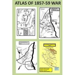 Atlas of 1857-59 War by Agha Humayun Amin, 9781484155295.