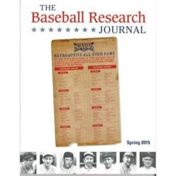 Baseball Research Journal (BRJ), Volume 44 #1 by Society for American Baseball Research (Sabr), 9781933599830.