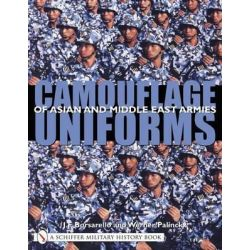 Camouflage Uniforms of Asian and Middle Eastern Armies, Schiffer Military History Book by J. F. Borsarello, 9780764319228.