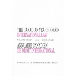 Canadian Yearbook of International Law 2001, Vol. 39 by Don M. McRae, 9780774809917.