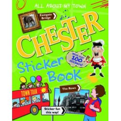 Chester Sticker Book, All About My Town Sticker Book, 9781849930659.