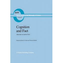 Cognition and Fact, Materials on Ludwik Fleck by Robert S. Cohen, 9789401085045.