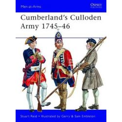 Cumberland's Culloden Army, 1745-46, Men-at-Arms by Stuart Reid, 9781849088466.