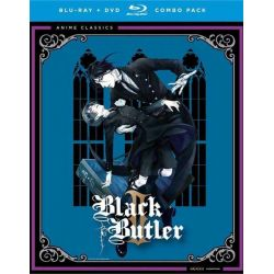 Black Butler: Complete Second Season (Blu-ray + DVD Combo) (Blu-ray )