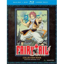 Fairy Tail: Collection Four (Blu-ray + DVD Combo) (Blu-ray  2012)