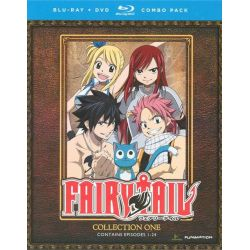 Fairy Tail: Collection One (Blu-ray + DVD Combo) (Blu-ray )