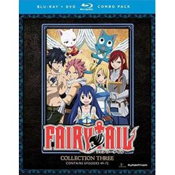 Fairy Tail: Collection Three (Blu-ray + DVD Combo) (Blu-ray )