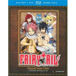 Fairy Tail: Collection Two (Blu-ray + DVD Combo) (Blu-ray )