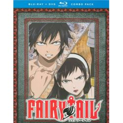 Fairy Tail: Part Ten (Blu-ray + DVD Combo) (Blu-ray )