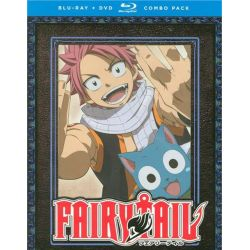 Fairy Tail: Season Two - Part One (Blu-ray + DVD Combo) (Blu-ray )