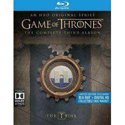 Game Of Thrones: The Complete Third Season (Steelbook + Blu-ray + UltraViolet) (Blu-ray  2015)