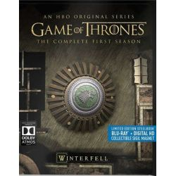 Game of Thrones: The Complete First Season (Steelbook + Blu-ray + Digital Copy) (Blu-ray  2011)