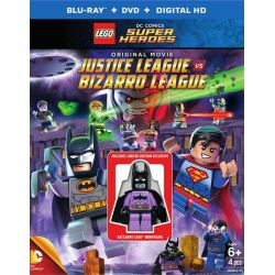 Lego: DC Comics Super Heroes - Justice League Vs. Bizarro League (Blu-ray + DVD + UltraViolet) (Blu-ray  2015)