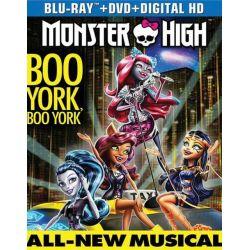 Monster High: Boo York, Boo York (Blu-ray + DVD + UltraViolet) (Blu-ray )