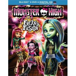 Monster High: Freaky Fusion (Blu-ray + DVD + UltraViolet) (Blu-ray  2014)