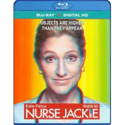 Nurse Jackie: Season Six (Blu-ray + UltraViolet) (Blu-ray  2014)