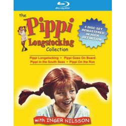 Pippi Longstocking Collection, The (Blu-ray  1970)