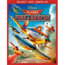 Planes: Fire & Rescue (Blu-ray + DVD + Digital HD) (Blu-ray  2014)