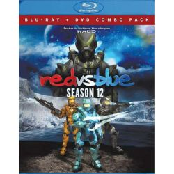 Red Vs. Blue: Season 12 (Blu-ray + DVD Combo) (Blu-ray  2014)