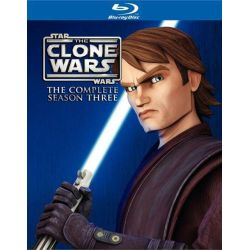 Star Wars: The Clone Wars - The Complete Season Three (Blu-ray  2010)