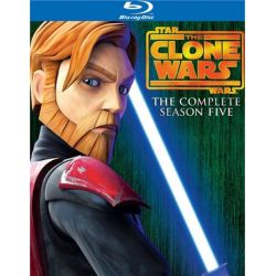 Star Wars: The Clone Wars - The Complete Season Five (Blu-ray  2012)