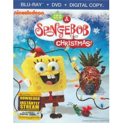 SpongeBob SquarePants: It's A SpongeBob Christmas! (Blu-ray + DVD + Digital Copy) (Blu-ray )