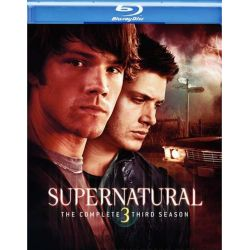 Supernatural: The Complete Third Season (Blu-ray  2007)