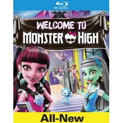 Monster High: Welcome To Monster High (Blu-ray + DVD + UltraViolet) (Blu-ray )