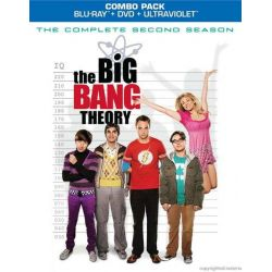 Big Bang Theory, The: The Complete Second Season (Blu-ray + DVD Combo) (Blu-ray  2008)